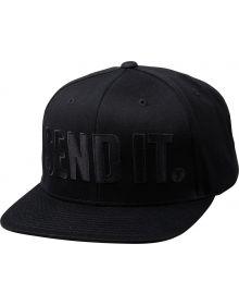 Seven Send It Youth Hat Black