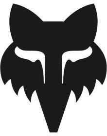 Fox Racing Legacy Head TDC 5.5 Inch Sticker Black