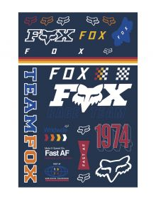 Fox Racing Murc Track Pack Stickers Multi