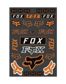 Fox Racing Track Pack Decals Orange