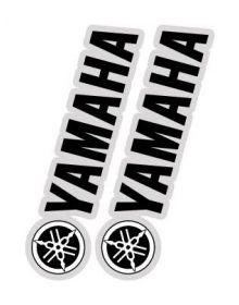 Factory Effex Fork/Swingarm Decals Yamaha Black