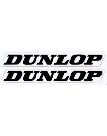 Factory Effex Dunlop Swing Arm Decal Kit White