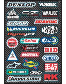 Factory Effex Street Sponsor Sticker Kit