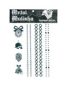 Metal Mulisha Bling Bling Tattoo Pack Black