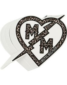 Metal Mulisha Outlaw Maiden Decal 6 inch