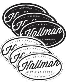 Thor Hallman Decal Goods 6 Pack