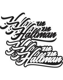 Thor Hallman Decal Original 7in 6 Pack
