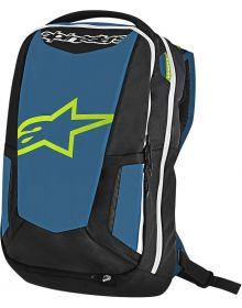 Alpinestars City Hunter Backpack Black/Blue/Lime