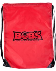 Bobs Cycle Drawstring Cinch Sport Pack Red