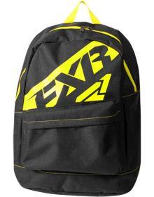 FXR Holeshot Backpack Black Charcoal/Hi-Vis