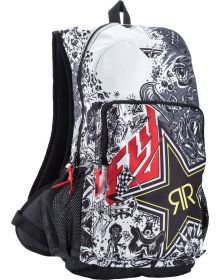Fly Racing Jump Backpack Rockstar White/Black
