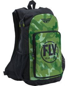 Fly Racing Jump Pack Backpack Green Camo