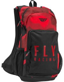 Fly Racing Jump Backpack Red/Black Camo