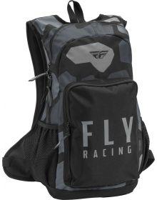 Fly Racing Jump Backpack Grey/Black Camo