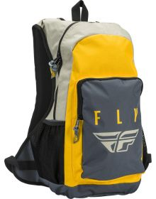 Fly Racing Jump Backpack White/Black/Yellow