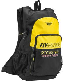Fly Racing Jump Backpack Rockstar Black/Yellow