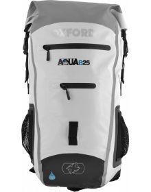 Oxford Aqua B-25 Back Pack White/Grey