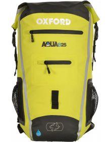 Oxford Aqua B-25 Back Pack Black/Flo