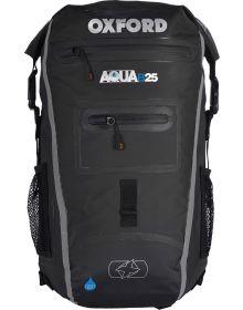 Oxford Aqua B-25 Back Pack Black/Grey