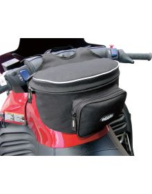 Gears Handlebar bag Deluxe W/Map Pouch Black