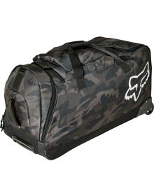 Fox Racing Shuttle Roller Gear Bag Black Camo