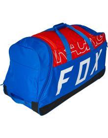 Fox Racing Skew Shuttle 180 Roller Gear Bag Flo White/Red/Blue