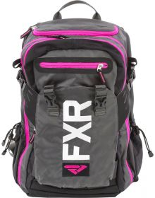 FXR Ride Pack Black/Charcoal/Fuchsia