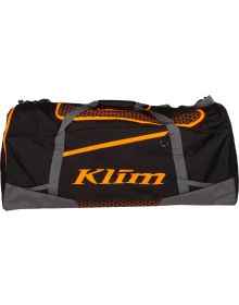 Klim Drift Gear Bag Black/Strike Orange