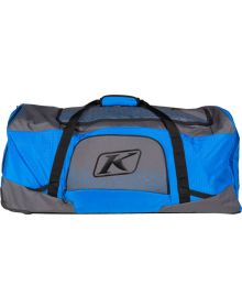 Klim Team Gear Bag Asphalt/Electric Blue Lemonade