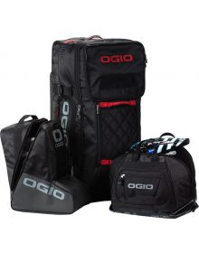 Ogio T-3 Rig Wheelie Gear Bag Black/Red