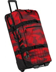 Ogio Trucker Wheelie Gear Bag Red Camo