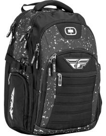 Fly Racing / Ogio Urban Backpack Black/White