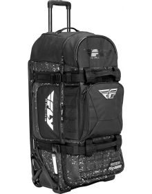 Fly Racing Ogio 9800 Roller Bag Black/White