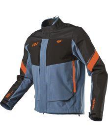 Fox Racing 2021 Legion Downpour Jacket Blue Steel