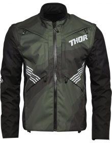 Thor 2021 Terrain Jacket Green Camo