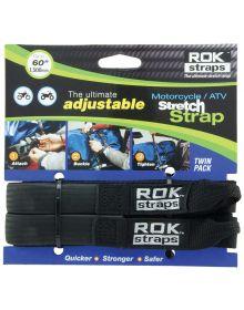 Rok Straps Heavy Duty Adjustable Straps 60 Inch Black