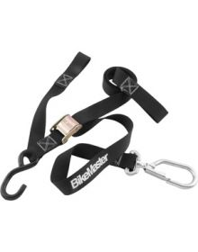 BikeMaster Carabiner Tie-Downs w/ Integrated Softhook