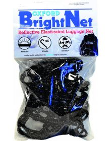 Oxford Bright Net Reflective Cargo Net 15 inch Square