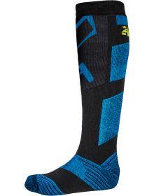 509 Stoke Socks Hi-Vis Blue