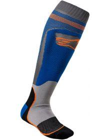 Alpinestars MX Plus-1 Socks Blue/Orange