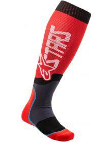 Alpinestars MX Plus-2 Socks Red/White