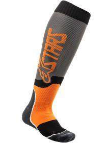 Alpinestars MX Plus-2 Socks Gray/Orange