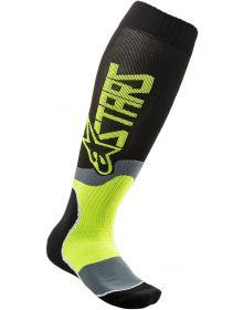 Alpinestars MX Plus-2 Socks Black/Yellow