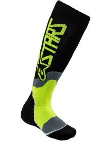 Alpinestars MX Plus-2 Youth Socks Black/Yellow