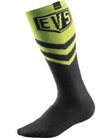 EVS Coolmax Moto Socks Hi-Vis