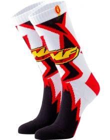 FMF Shatter Socks White