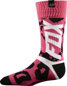 Fox Racing Youth Girls Socks Marz Black/Pink