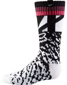 Fox Racing 2018 Youth Girls MX Socks Black/Pink