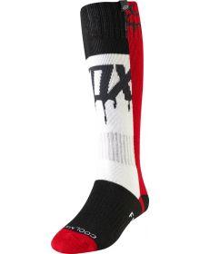 Fox Racing 2019 MX Womens Sock Mata Drip Flame Red
