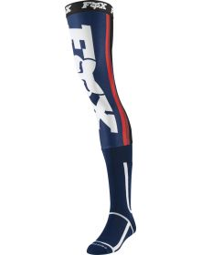 Fox Racing Linc Knee Brace Sock Navy/Red